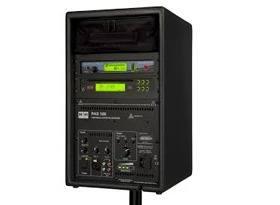 K&H - PAS100 - met accu,cd-speler & draadloze microfoon