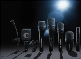 Sennheiser draadgebonden microfoons